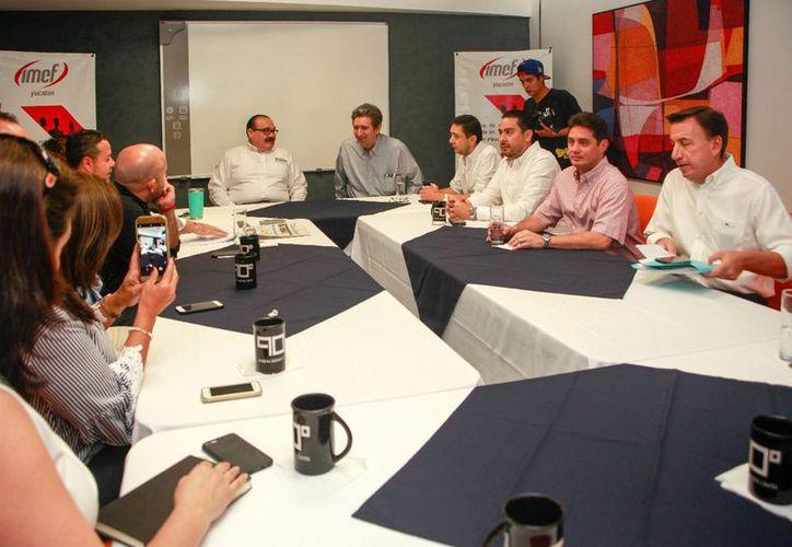 Ramírez Marín promoverá que los expertos del IMEF sean tomados en cuenta como un valioso órgano de consulta fiscal. (Milenio Novedades)