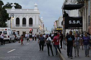 Festejan en Mérida la Independencia con el Grito