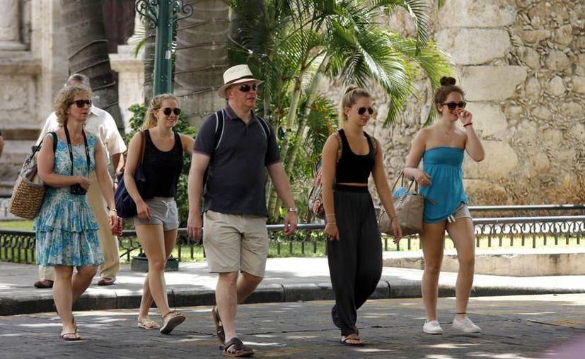 Mérida presentó un alza de 5.4 puntos porcentuales en materia de turismo. (Archivo/SIPSE).
