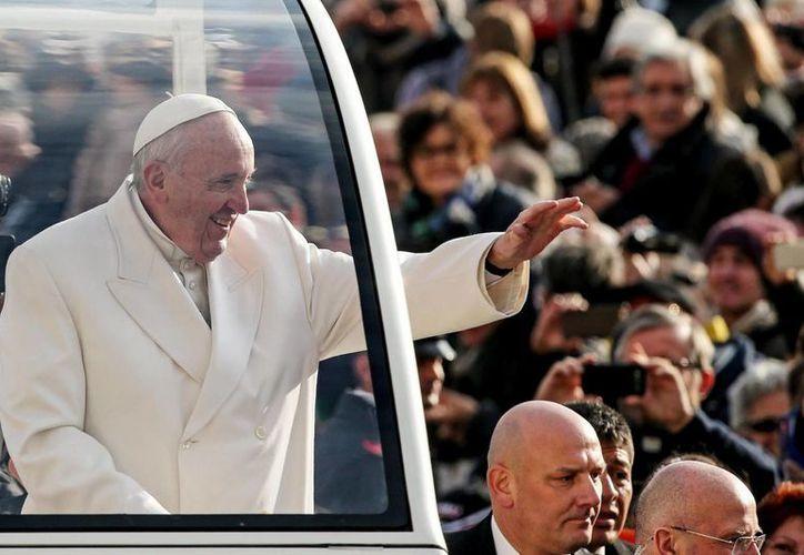 El Papa, que estará en México este mes, fue postulado este lunes al premio Nobel de la Paz. (EFE)