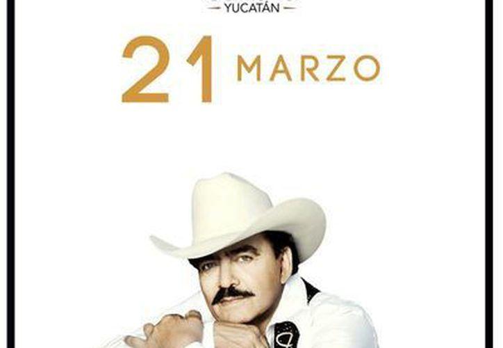 El compositor se iba a presentar el  próximo viernes 21 de Marzo en Mérida, Yucatán. (Facebook Boletea)