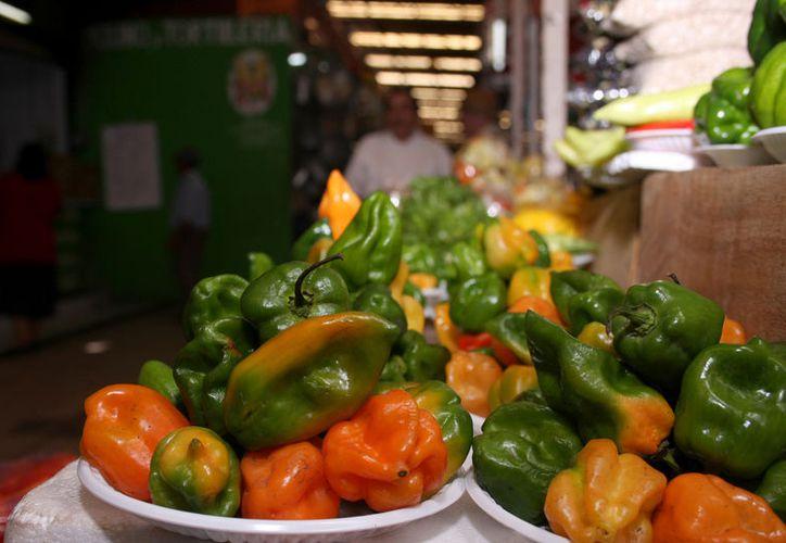 Se podrá registrar el aroma y picor de una variedad de chile, para establecer si es de Quintana Roo o Yucatán. (Novedades Yucatán)