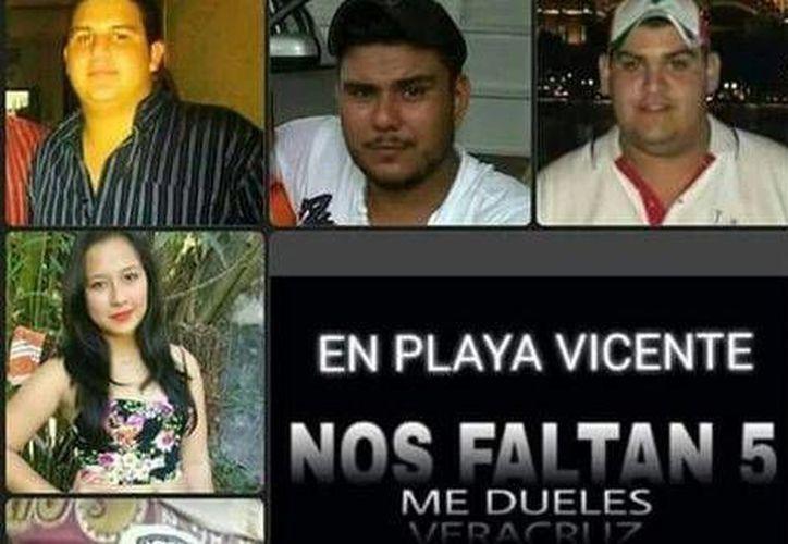 Autoridades dieron a conocer el hallazgo de los cuerpos de dos de los jóvenes desaparecidos en Tierra Blanca, Veracruz. (Milenio)