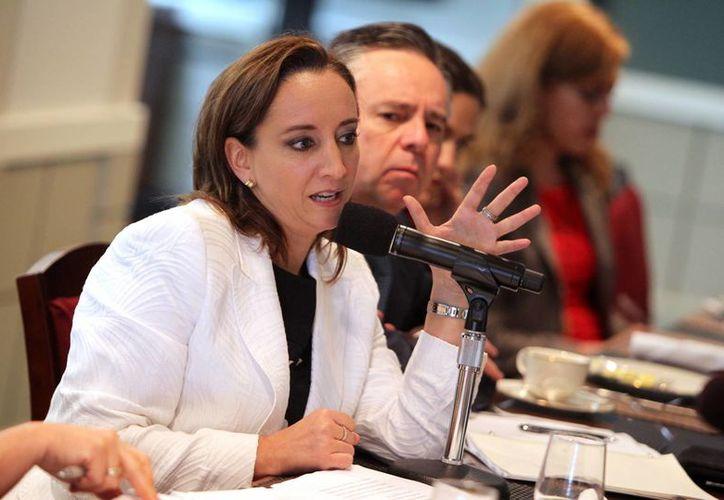Claudia Ruiz Massieu, titular de Sectur, ofreció apoyar a la industria turística con más créditos. (Archivo/Notimex)