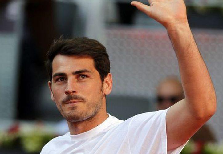 Casillas consideró una lástima la temporada que tuvo el Real Madrid en la pasada Liga de España. (EFE/Archivo)