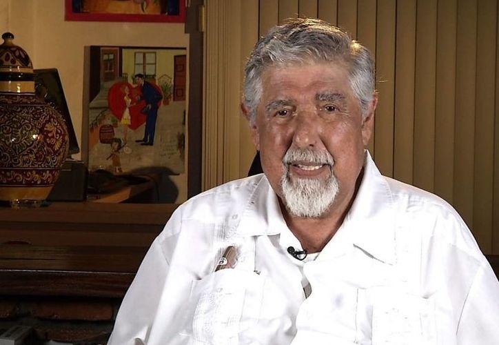 Rubén Aguirre, quien vive en Puerto Vallarta, consideraba a Roberto Gómez Bolaños un gran amigo, pero sobre todo un gran escritor. (univision.com)