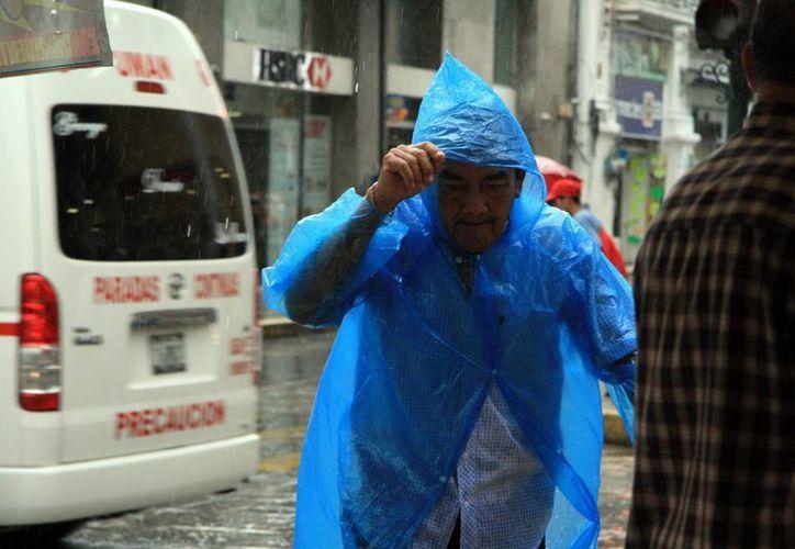 Según la Conagua se esperan lluvias vespertinas para los próximos 3 días en Yucatán. (SIPSE)