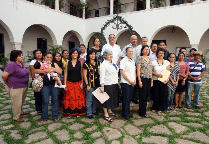 Integrantes del programa de Proyectos Sociales de la Uady. (SIPSE)