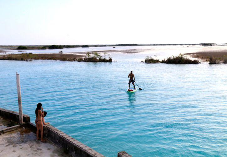 Laguna de los siete colores, urge un drenaje suficiente y eficiente para el manejo de las aguas residuales.