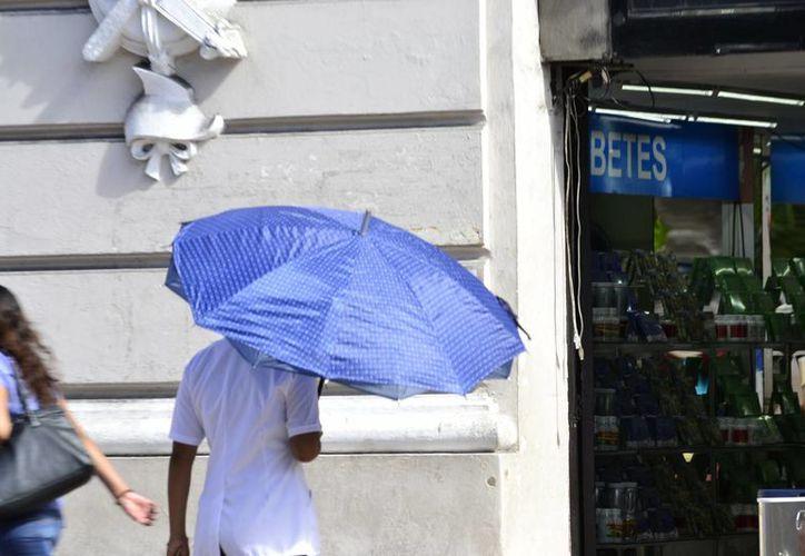 La Conagua pronostica un domingo lluvioso y también caluroso en Yucatán. (SIPSE)