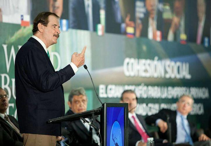 Fox dijo que es urgente 'un NAFTA plus'. (EFE)
