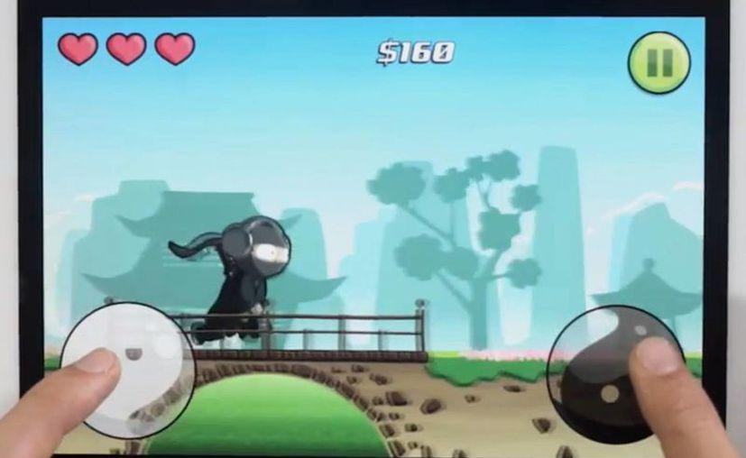 Audio Ninja, disponible en tres idiomas, se apoderó del número 1 en descargas de juegos de música en más de 50 países. Cuesta 0.99 dólares y fue lanzado el 8 de agosto. (Captura de pantalla)