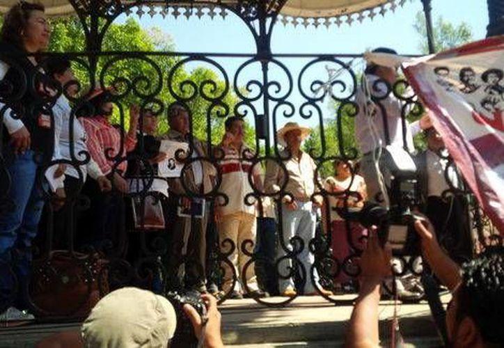 La CNTE planea establecer una nueva jornada de movilizaciones de mayo a agosto, contra las reformas. (Milenio)