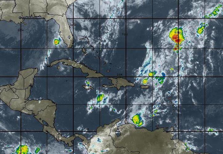 En el mar Caribe no evoluciona ningún sistema ciclónico. (Redacción/SIPSE)