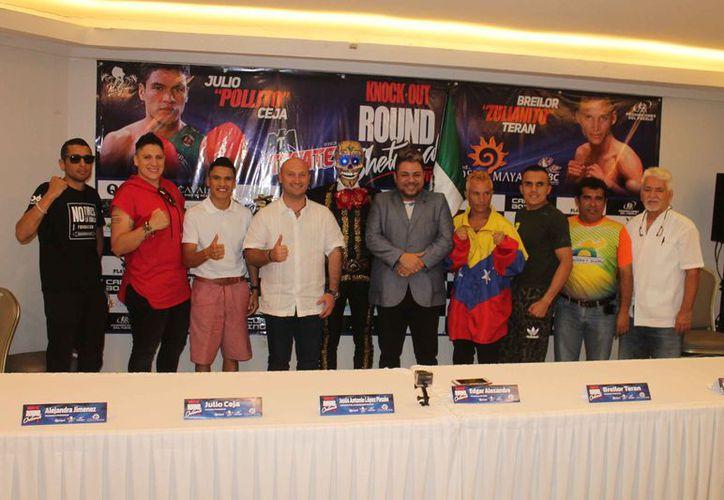 Se ofreció una conferencia de prensa en el Hotel Capital Plaza. (Miguel Maldonado/SIPSE)