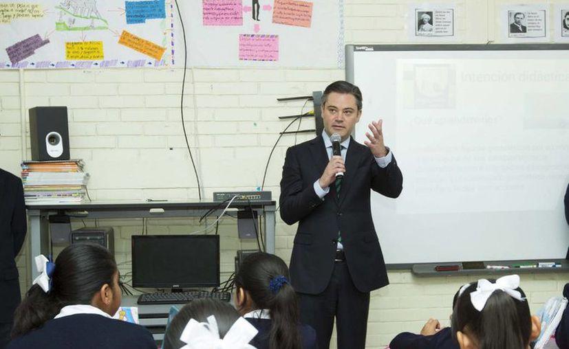 Aurelio Nuño dijo que se está preparando un plan integral de fortalecimiento para las Escuelas Normales de todo el país. (Archivo/Notimex)