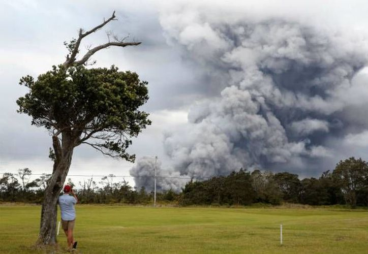 La explosión ocurrió después de dos semanas de actividad volcánica. (Reuters)