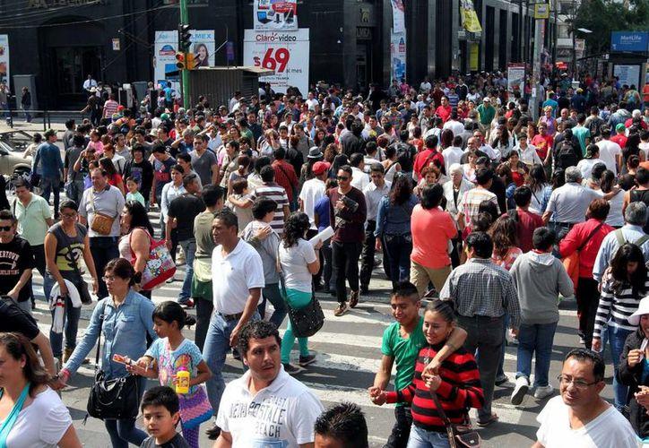 El empresariado asegura que el programa de El Buen Fin se ha consolidado. En la imagen, una abarrotada zona comercial de la Ciudad de México el pasado fin de semana. (Archivo/Notimex)