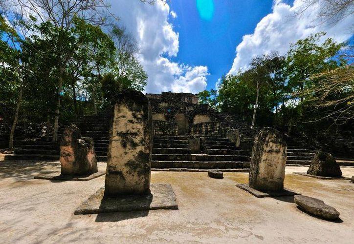 El centro prehispánico maya se ubica en el sureste de Campeche. (inah.gob.mx)