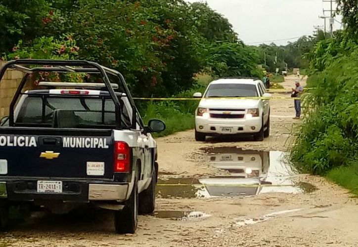 El pasado lunes fue hallado el cuerpo desmembrado en la colonia Girasoles del ejido de Isla Mujeres. (Redacción)
