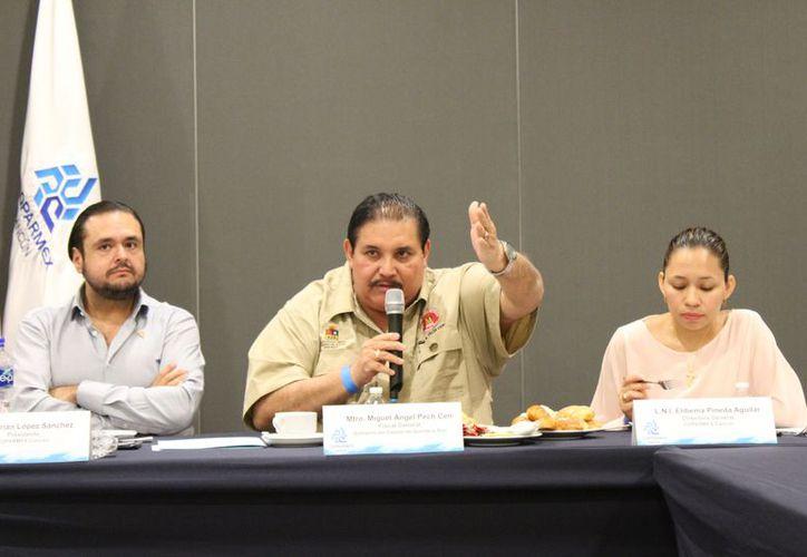 La actual administración ha logrado obtener la procuración de justicia a comparación de la administración pasada. (Foto: Adrián Barreto/SIPSE).