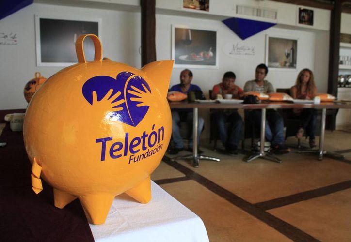 Integrantes del CRIT coincidieron en que el magno evento Teletón se realizará, simultáneamente, el 6 de diciembre, a partir de las 11 horas en Cancún y Cozumel. (Sergio Orozco/SIPSE)