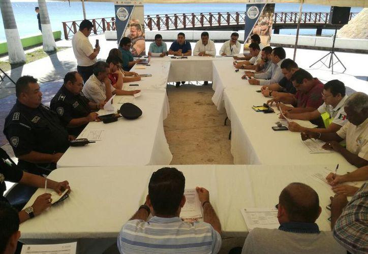 Las competencias iniciarán el viernes en la Fuente del Pescador, cuando se lleva a cabo la inauguración y la prueba de llevar y arrastrar. (Miguel Maldonado/SIPSE)