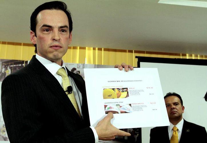 El secretario de Finanzas del PRD, Xavier Garza. (Notimex)