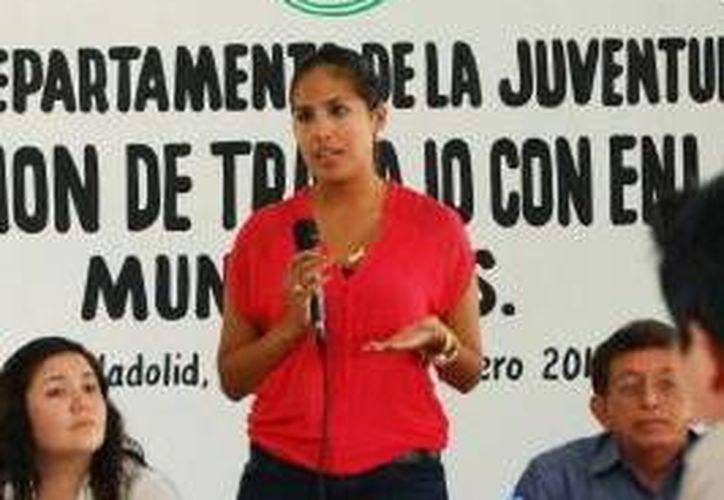 Alaine López Briceño, titular de la Sejuve. (Milenio Novedades)