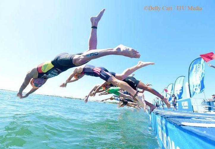 El Mundial de Triatlón se realizará en Cozumel del 11 al 18 de septiembre. (Cortesía/triathlon.org)