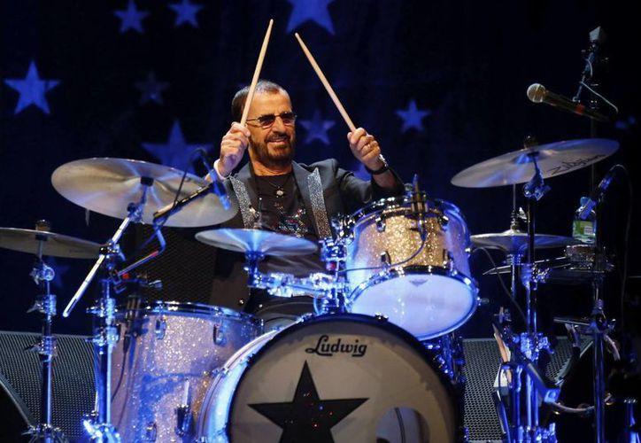 El exbaterista de The Beatles, Ringo Star, anunció la cancelación de su concierto en Cary, Carolina del Norte debido a una ley antigay. (EFE)