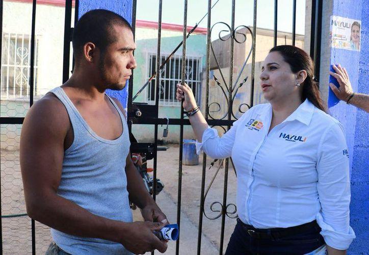 Mayuli destacó que, hoy más que nunca, se debe trabajar en equipo para resolver los problemas de seguridad en el estado. (Foto: Redacción/SIPSE)