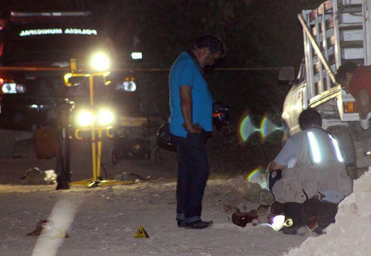 Los hechos ocurrieron el pasado 30 de octubre y al parecer todo se derivó cuando los dos presuntos asesinos intentaron robar una bicicleta. (Archivo/ SIPSE)