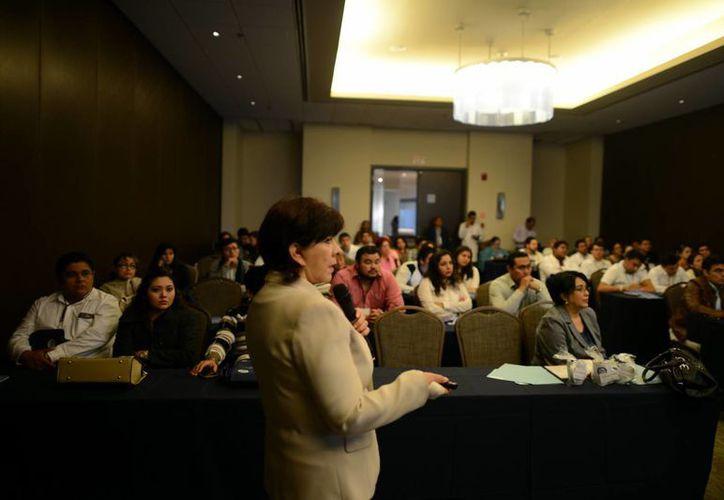 Silvia del Socorro Gómez Farías, especialista del Servicio de Pediatría del Hospital General de México, destacó la importancia de la lactancia materna. (Milenio Novedades)