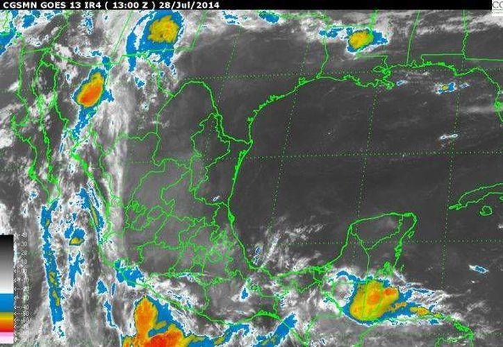 En la Península de Yucatán el cielo permanecerá medio nublado. Existe el 80% de probabilidad de lluvias. (Redacción/SIPSE)