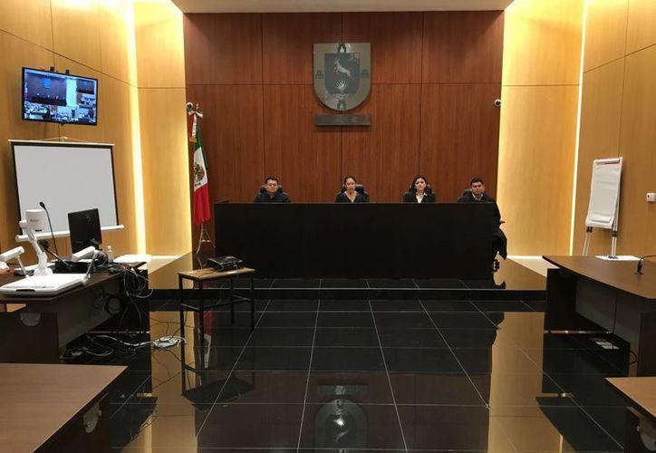 La defensa de la homicida Celia G. R., interpuso un recurso de apelación por la sentencia de 20 años de cárcel que le impuso el Tribunal Primero de Juicio Oral, pero la acusada sufrió un serio revés. (Poder Judicial de Yucatán)