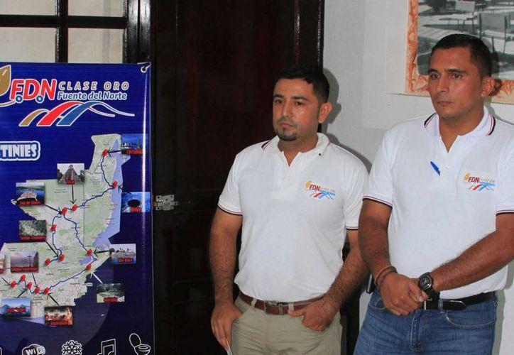 La empresa transporte Fuentes del Norte operará una ruta terrestre entre Flores, Guatemala y Chetumal, México. (Ángel Castilla/SIPSE)