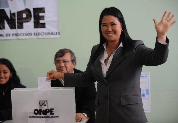 Keiko Fujimori dijo que el narcotraficante no tiene relación con su partido. (EFE)