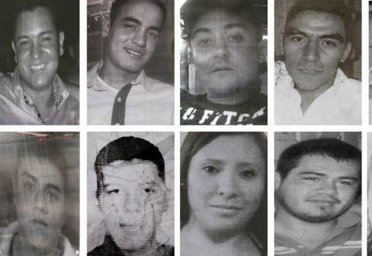 Diez de los trece jóvenes plagiados en el bar Heaven a plena luz del día. (Archivo/SIPSE)