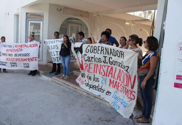 Los afectados metieron un amparo ante el Tribunal de Circuito en Cancún y esperan 20 días para iniciar el proceso. (Joel Zamora/SIPSE)