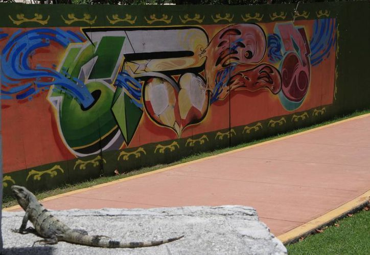 Los murales se han realizado en Cancún, Holbox e Isla Mujeres y próximamente en Cozumel. (Tomás Álvarez/SIPSE)