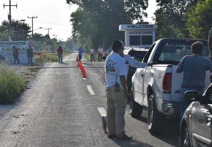 El INAH ya le había notificado esta acción al presidente pero él hizo caso omiso.  (Foto: Gustavo Villegas/SIPSE).