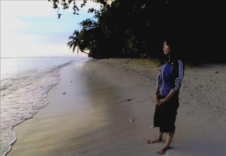 Reikko Hori capturó todos los momentos que vivió en la isla y lo subió a sus redes sociales.(Captura de pantalla)