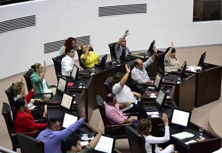 El voto en lo general en el Congreso de Yucatán fue por mayoría, con excepción de Morena. (SIPSE)