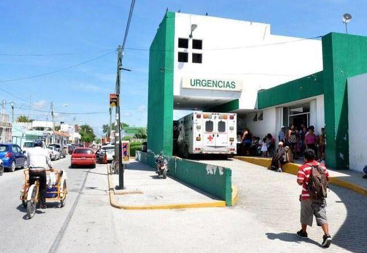 El padrastro del menor, que murió el 1 de mayo pasado, fue trasladado del Hospital General al hospital de la cárcel de Cancún. (Archivo/SIPSE)