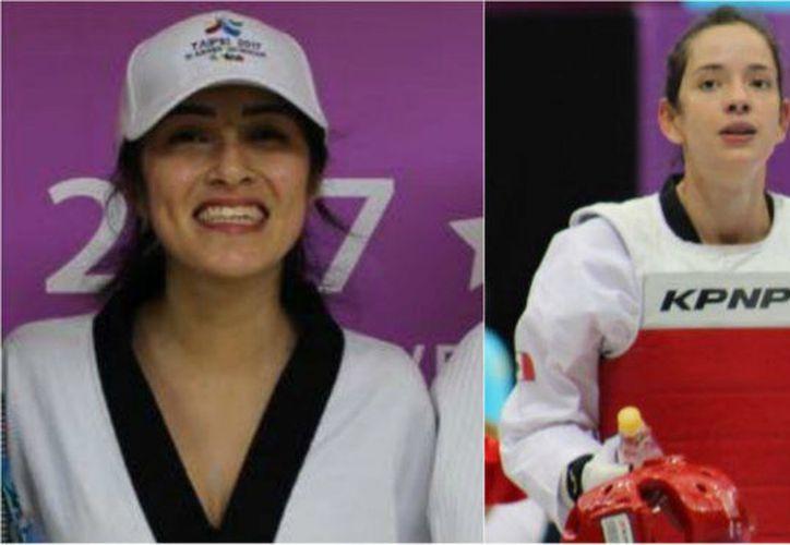 Itzel Manjarrez y Victoria Heredia  ganaron medalla de bronce en la Universiada Mundial Taipei. (Foto: Marca)