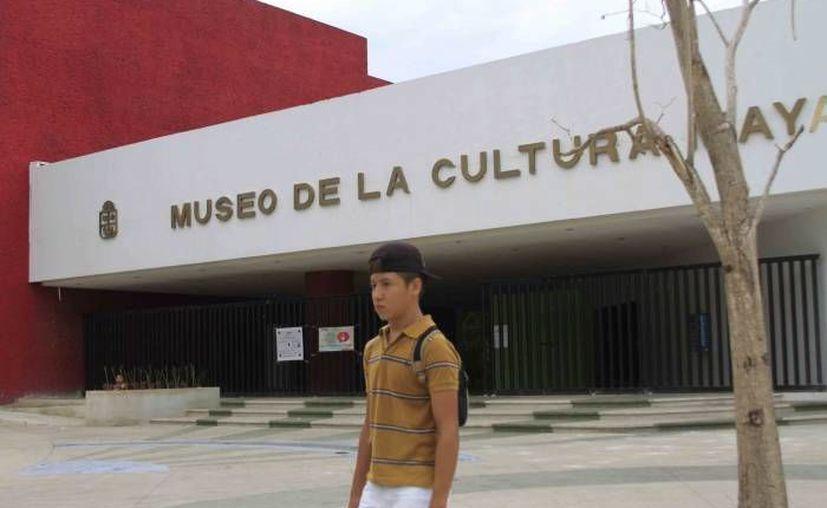 La exposición de la obra se lleva a cabo en el Museo Maya. (Internet/Contexto)
