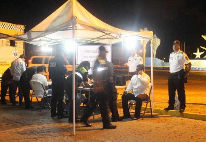 """Los puntos principales en los que se desplegó el operativo están ubicados sobre la avenida José López Portillo y  la zona conocida como """"la Rehoyada"""". (Redacción/SIPSE)"""