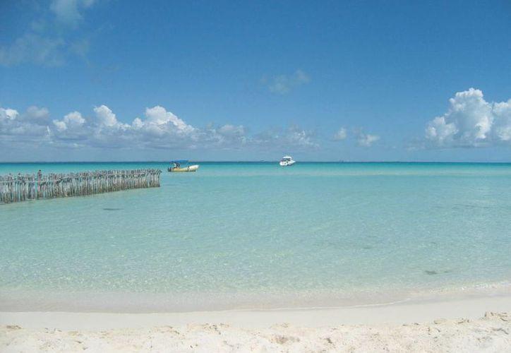 Playa Norte de Isla Mujeres quedó en el lugar 14 de la lista. (viajeros.com)