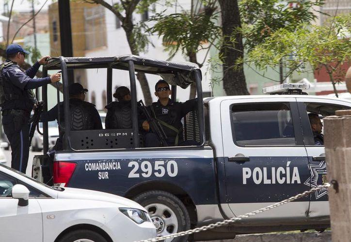 Se estima que unos tres mil policías federales fueron desplegados en Oaxaca para labores de seguridad por las elecciones del domingo. (Notimex)